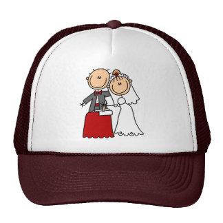 Gorra de novia y del novio