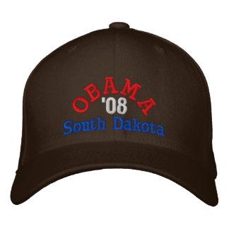 Gorra de Obama '08 Dakota del Sur Gorras De Béisbol Bordadas