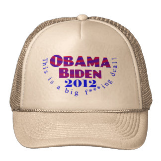 Gorra de Obama Biden 2012 BFD