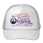 Gorra de Obama - celebración del día de inauguraci