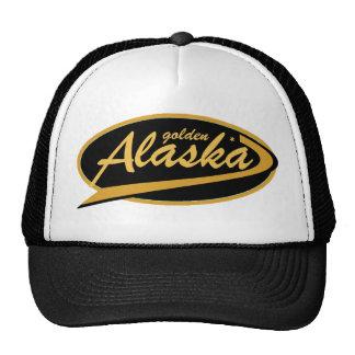 ¡Gorra de oro del camionero de Alaska!