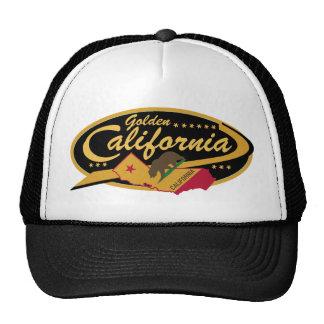 ¡Gorra de oro del camionero de California!