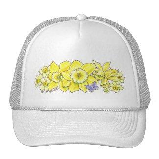 Gorra de oro del narciso