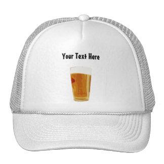 Gorra de oro lleno adaptable del vidrio de cerveza