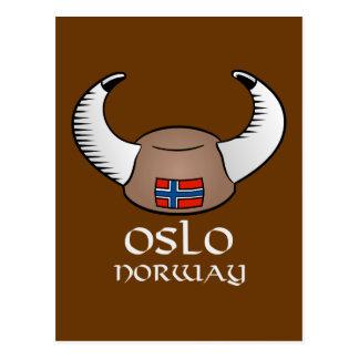 Gorra de Oslo Noruega Viking Postal