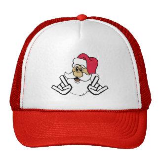 Gorra de Papá Noel del metal