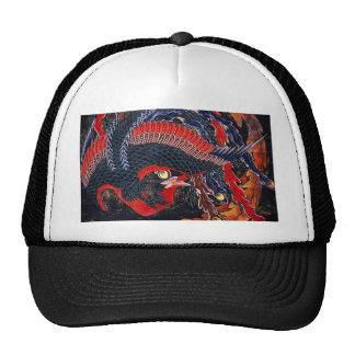 Gorra de Phoenix del japonés de Hokusai