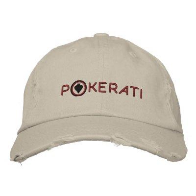 Gorra de Pokerati del equipo Gorras De Beisbol Bordadas