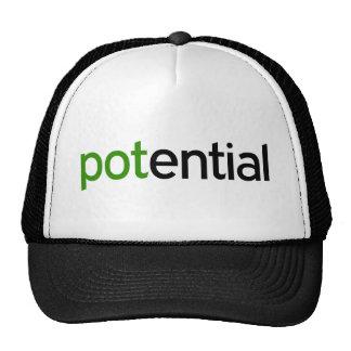 Gorra de pote potencial