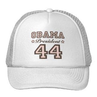 Gorra de presidente Obama 44