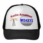 Gorra de radio aficionado