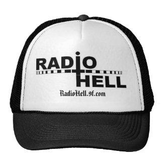 Gorra de radio del infierno