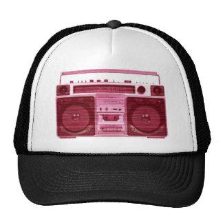 gorra de radio retro