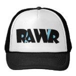 Gorra de Rawr del negro azul