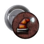 Gorra de Robo-Santa, botón Pins