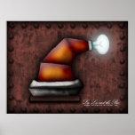 Gorra de Robo-Santa, impresión Impresiones