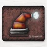 Gorra de Robo-Santa, mousepad Alfombrilla De Ratón