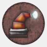 Gorra de Robo-Santa, pegatina