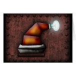 Gorra de Robo-Santa, tarjeta de felicitación