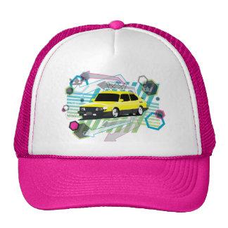 gorra de Saab 900 SPG del grunge de los años 80