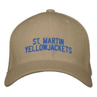 Gorra de San Martín Yellowjackets Gorra De Béisbol Bordada