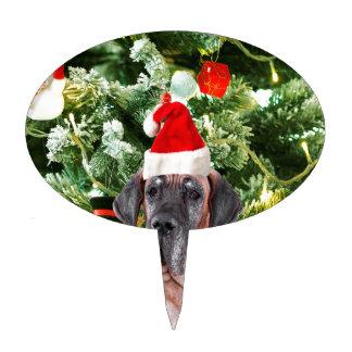 Gorra de Santa de las cajas de regalo del árbol de Palillos De Tarta