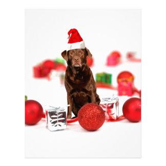 Gorra de Santa de los regalos del navidad w del Membrete A Diseño