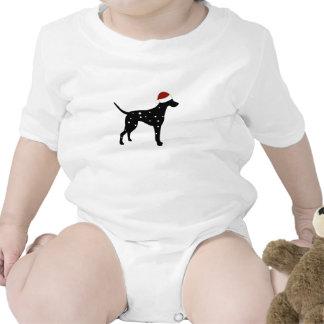 Gorra de Santa del Dalmatian Trajes De Bebé