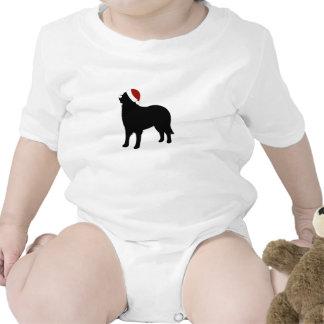 Gorra de Santa del perro de montaña de Bernese Traje De Bebé