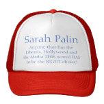Gorra de Sarah Palin