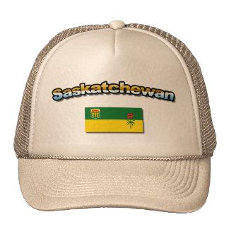 ¡Gorra de Saskatchewan con la bandera!