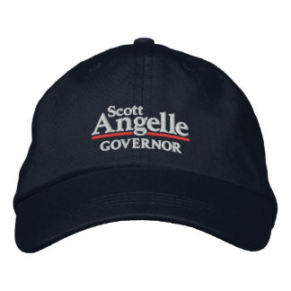 Gorra de Scott Angelle Gorro Bordado