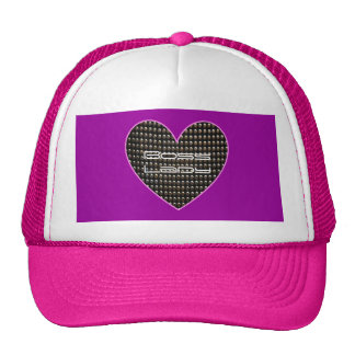 Gorra de señora Heart With Sequins Trucker de Boss