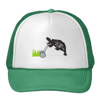 Gorra de siega del camionero de la tortuga del