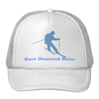 Gorra de Skiier del diamante negro