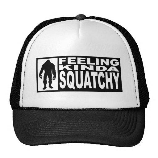 Gorra de Squatchy de la sensación - encontrar Bigf