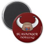 Gorra de Stavanger Noruega Viking Imanes