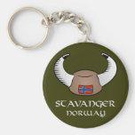 Gorra de Stavanger Noruega Viking Llavero