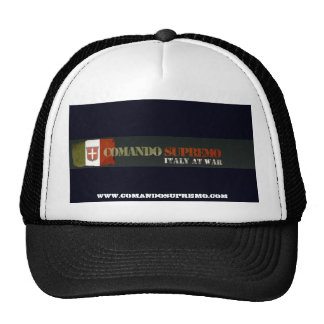 Gorra de Supremo del comando