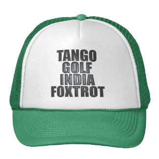 Gorra de TGIF: Fonética de la OTAN