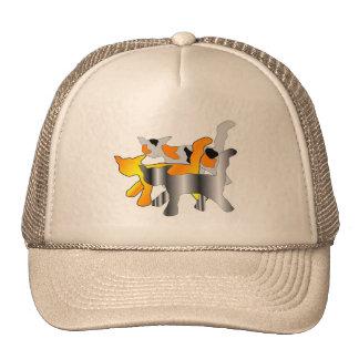 Gorra de tres gatos