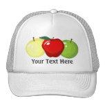 Gorra de tres manzanas