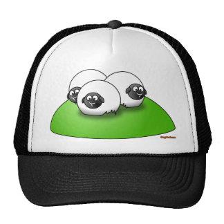 Gorra de tres pequeño ovejas