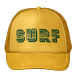 Gorra de Truker de la PERSONA QUE PRACTICA SURF