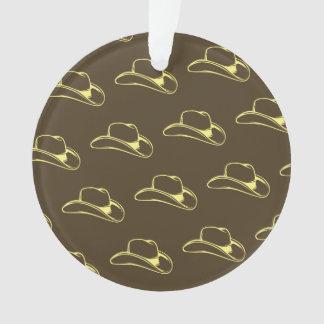 Gorra de vaquero Brown amarillo