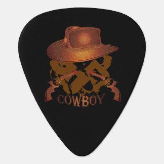 Gorra de vaquero Brown Púa De Guitarra