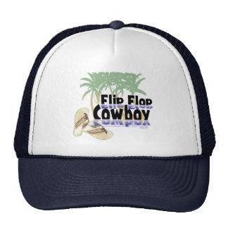 Gorra de vaquero del flip-flop