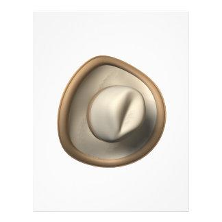 Gorra de vaquero tarjetas informativas