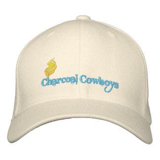 Gorra de vaqueros del carbón de leña gorras de beisbol bordadas