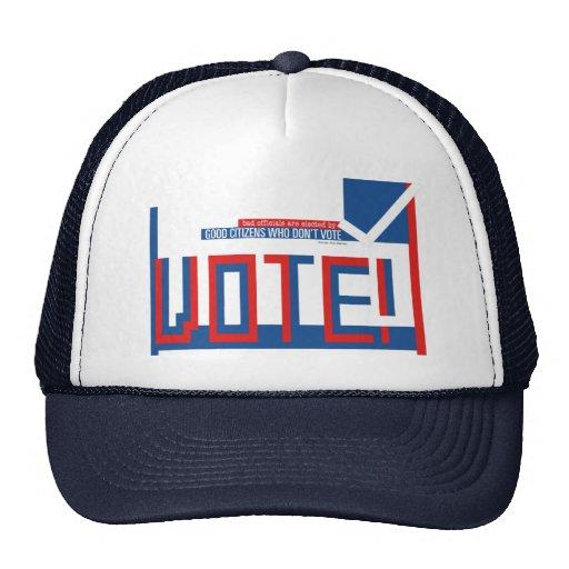 Gorra de votación